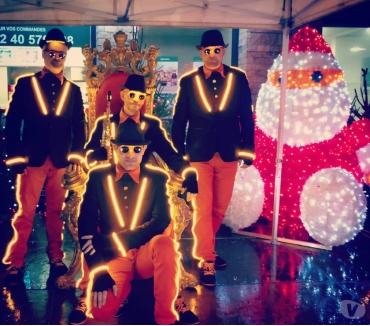 Photos Vivastreet quatuor sax lumineux spectacle fanfare lumineuse