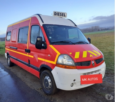 Photos Vivastreet Master vasp ambulance 1er MAIN. 179000km 120cv**MK AUTOS