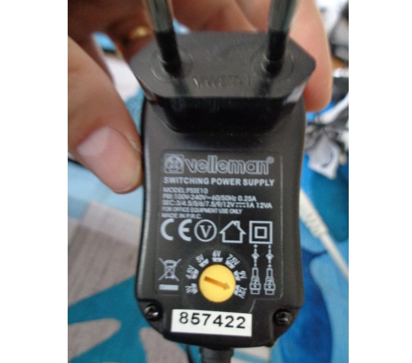 Rhône Decines Charpieu - 69150 - Photos Vivastreet COMPACT SWITCHING POWER SUPPLY WITH 7 SELECTABLE OUTPUTS
