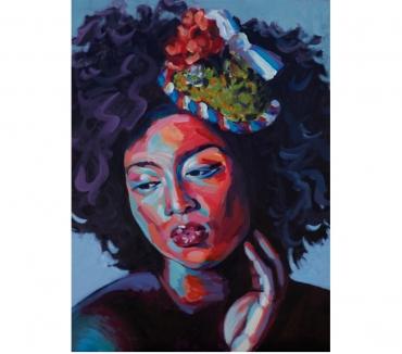 Photos Vivastreet Tableau Acrylique déco portrait beauté colorée