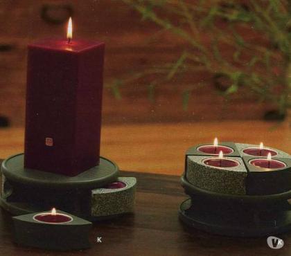 Photos Vivastreet Partylite porte-bougie zen puzzle confort réchaud deco mode