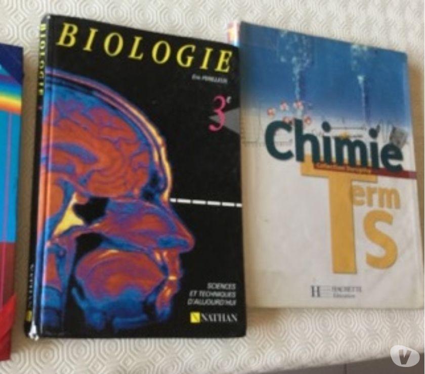 Photos Vivastreet Français 5è Biologie 3è Chimie Ter S 1,50€ ou 3€ les 3