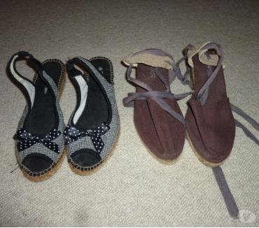 Photos Vivastreet Chaussures compensées corde -Taille 38-39