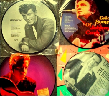 Photos Vivastreet Picture Disc rock'n'roll