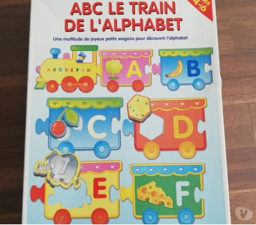 Photos Vivastreet ABC le train de l'alphabet, jeux éducatifs