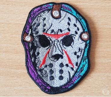 Photos Vivastreet ecusson brodé masque de Jason vendredi 13 thermocollant