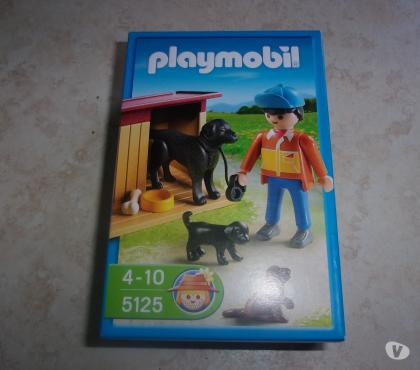 Photos Vivastreet Playmobil 5125 -Chiens et fermier (Neuf)