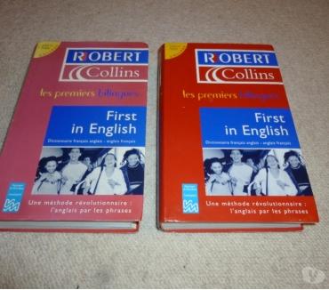 Photos Vivastreet 2 dictionnaires Robert Collins (les 1ers bilingues)