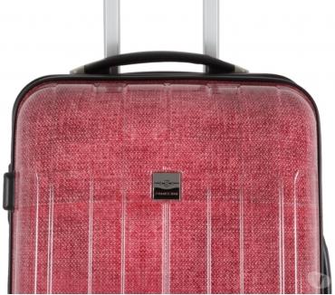 Photos Vivastreet FRANCE BAG Valise rigide 60 cm – Polycarbonate Rouge Jeans