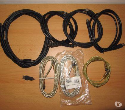 Photos Vivastreet Lot cables FIrewire