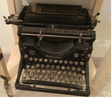 Photos Vivastreet Machine a ecrire underwood