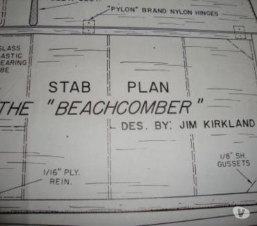 Photos Vivastreet AVION PLAN BEACHCOMBER MULTI USA VINTAGE