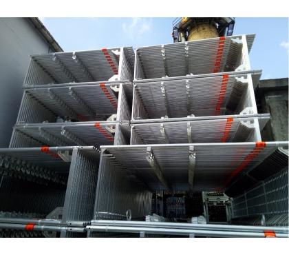 Photos Vivastreet Echafaudage cadres aluminium: 720m² occasion