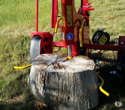 Photos Vivastreet Fendeuse de bûche Rabaud 13 tonnes électrique tractable