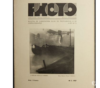 Photos Vivastreet Photo, bulletin de l'association belge de photographie