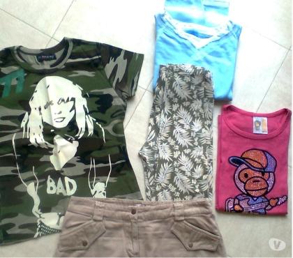 Photos Vivastreet mini jupe, 3 hauts, pantalon - 12-14 ans -zoe