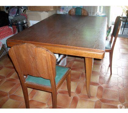 Photos Vivastreet Table de Salle à manger + 6 chaises bois