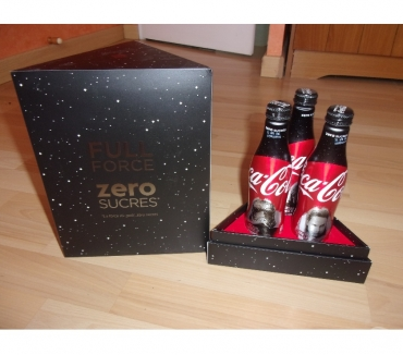 Photos Vivastreet Coffret collector Star Wars Coca-cola zero sucres (Neuf)