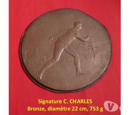Photos Vivastreet Matrice de médaille de PATIN à GLACE, 22 cm, 753 g