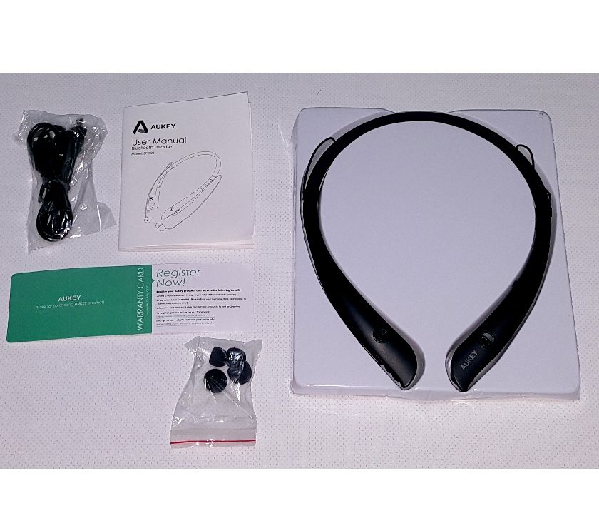 Photos Vivastreet Casque audio Bluetooth sport tour de cou neuf