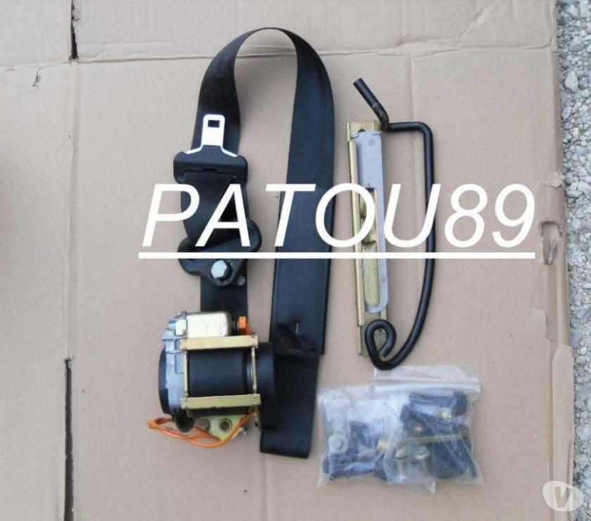 pi ces accessoires auto ceinture pr tensionneur avant droite peugeot 206. Black Bedroom Furniture Sets. Home Design Ideas