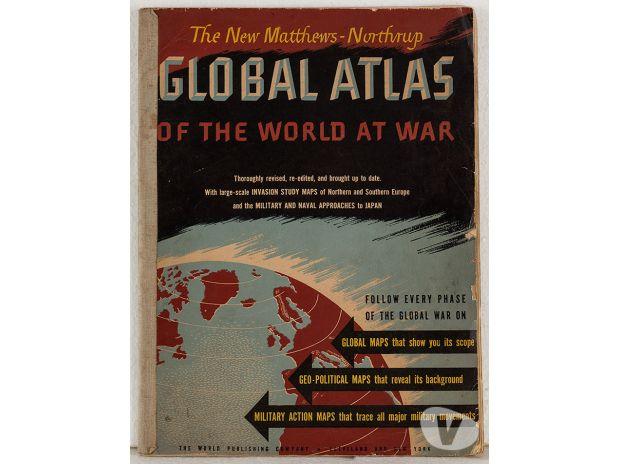 Photos Vivastreet Matthews-Northrup, Global Atlas the world at war