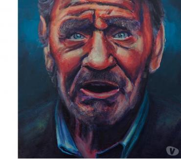 Photos Vivastreet Tableau Acrylique déco portrait vieil Homme