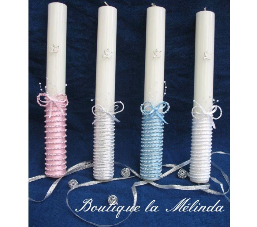 Photos Vivastreet Coffret de bapteme : bougie + serviette, vëtement