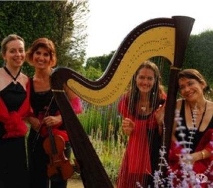 Photos Vivastreet Animations musicales : Harpiste et Soprano