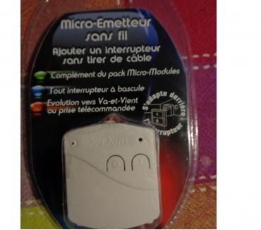 Photos Vivastreet Micro-émetteur sans fil - s'adapte derrière l'interrupteur -