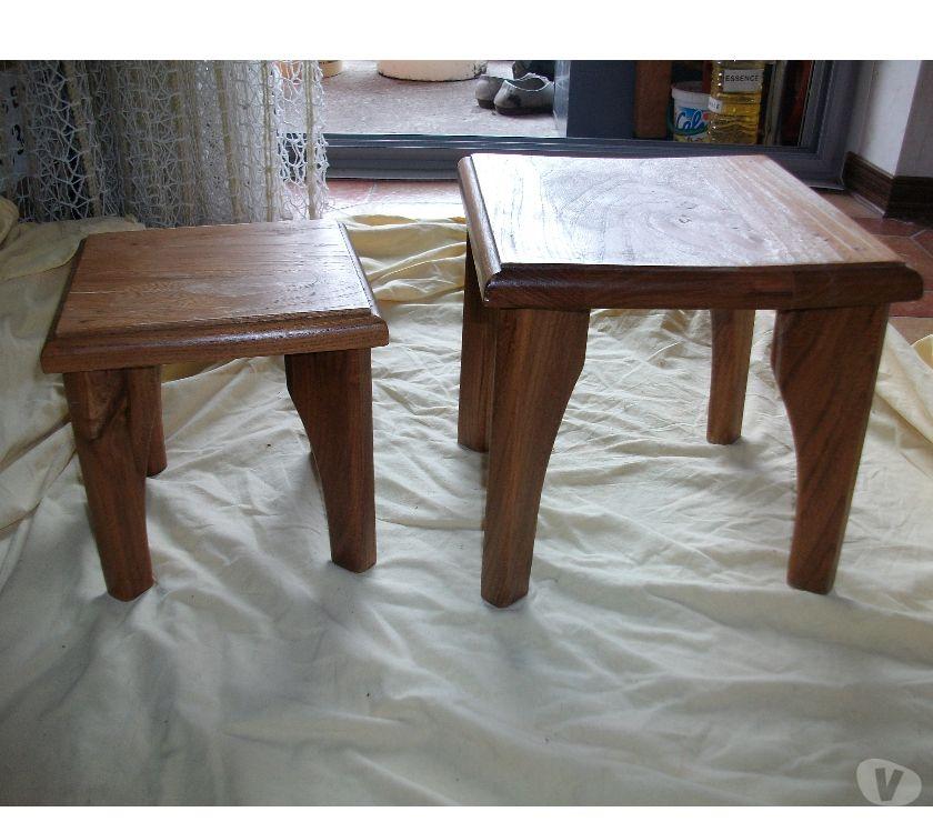 Photos Vivastreet Petits Tabourets et Petites Tables d'Appoint