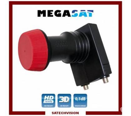 Photos Vivastreet LNB Unicable SCR Megasat Diavolo 0,1 dB Gain 60 dB Full HD