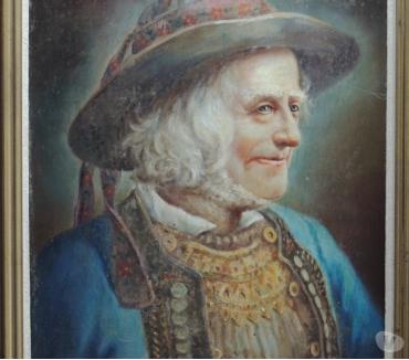 Photos Vivastreet Tableau, Peinture signée R. Le Baccon (Autoportrait )