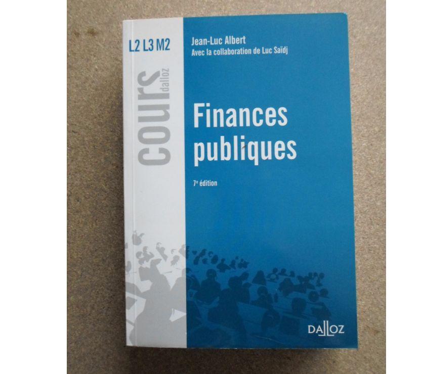 Photos Vivastreet Livre dalloz finances publics