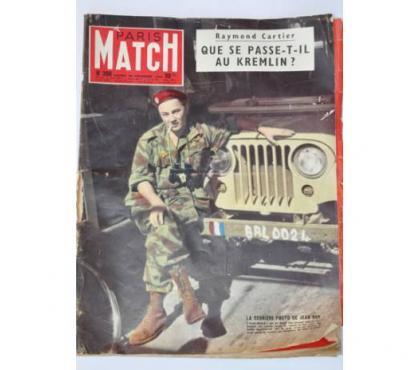 Photos Vivastreet Paris Match n°398 du 24 Novembre 1956