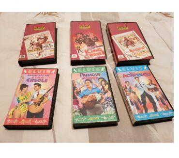 Photos Vivastreet un lot de cassettes vidéo de elvis presley