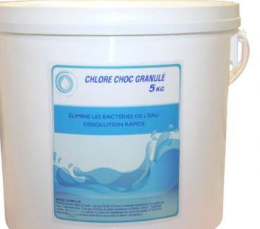 Photos Vivastreet chlore choc granulés pour piscines seau 5 kg