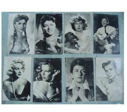 Photos Vivastreet Cartes postales anciennes d'acteurs et actrices