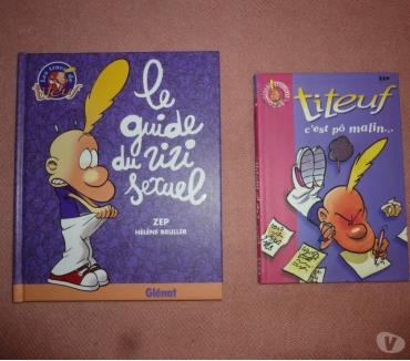 Photos Vivastreet 2 livres Titeuf - Glénat