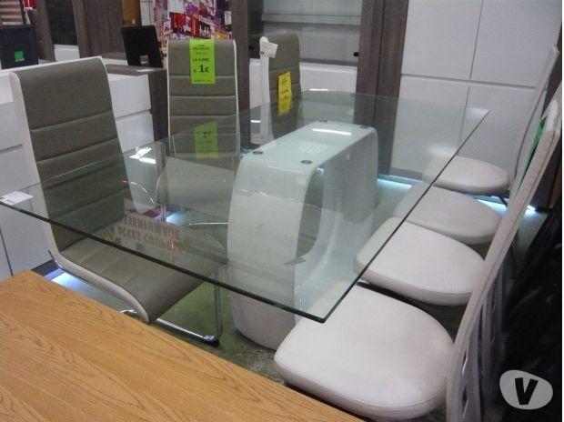 Table de sejour moderne lormont 33310 meubles pas for Table de sejour moderne