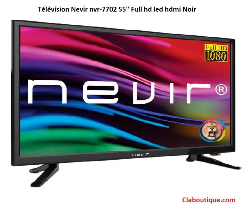 "Photos Vivastreet Télévision nevir nvr-7702 55"" Full hd led hdmi Noir"