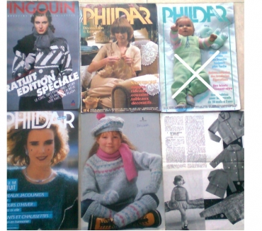 Photos Vivastreet magazines de tricots, etc ... vintages - zoe