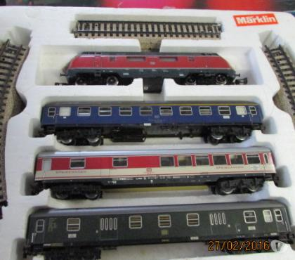 Photos Vivastreet coffret train markling
