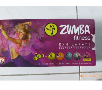 Photos Vivastreet kit zumba fitness t complet avec les CD