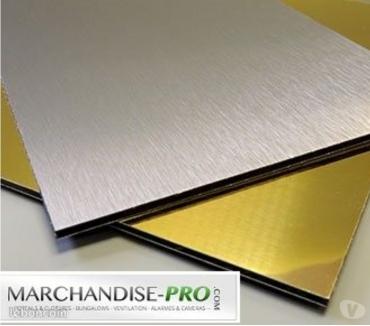 Photos Vivastreet Tole Aluminium Composite dibond inox alimentaire strié grain