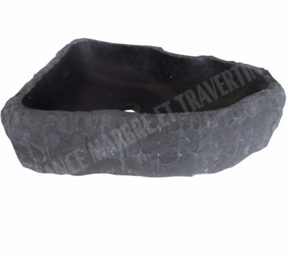 Photos Vivastreet Basalte Noir Vasque Model Triangle 400€ HTpiéce