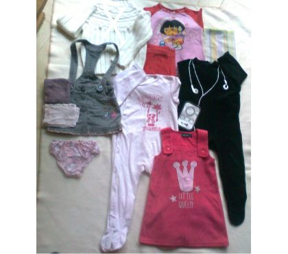 Photos Vivastreet lot 11 - robe, pyjamas, jupes - 1 à 2 ans - zoe
