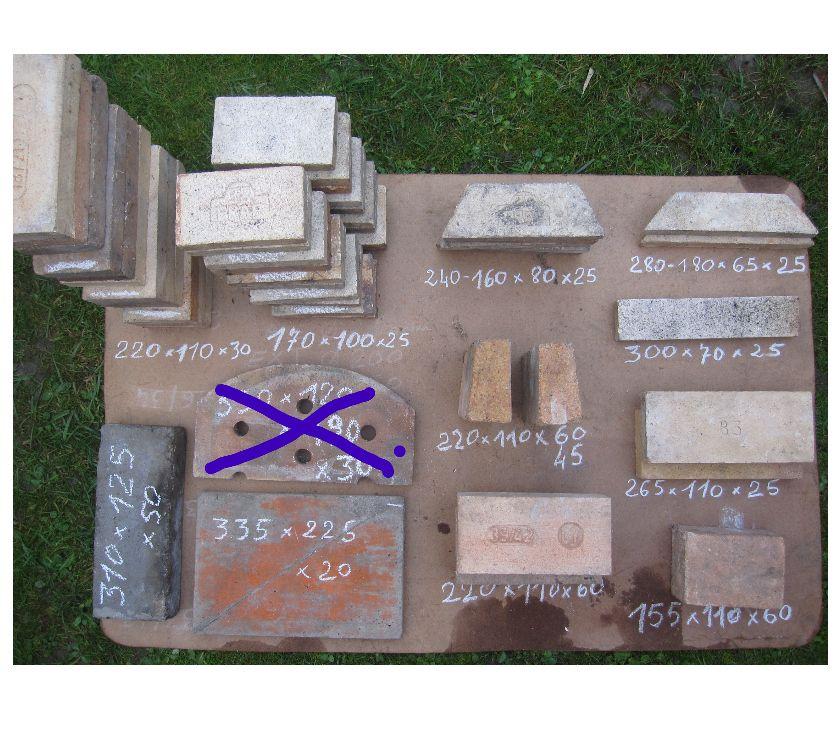 Photos Vivastreet Briques réfractaires de différentes dimensions