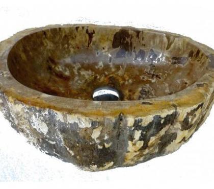 Photos Vivastreet vasque en bois fossilisé/pétrifié