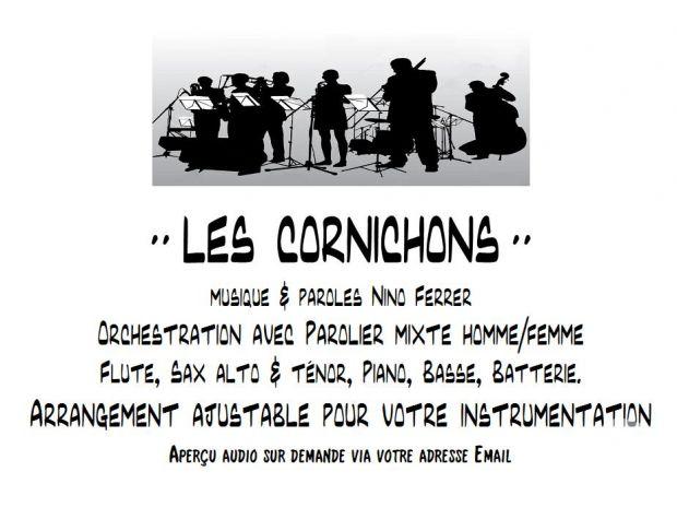 """Photos Vivastreet partition """" LES CORNICHONS """""""